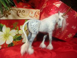 Dapple Gray Unicorn Mare_right by Ethereal-Beings
