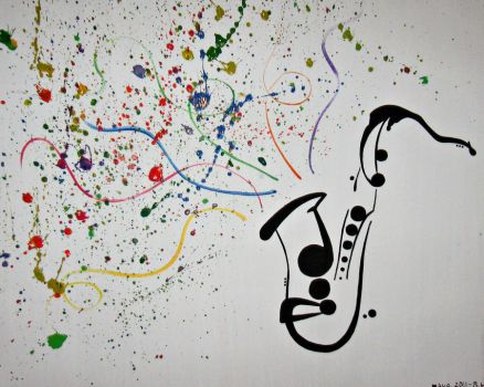 Music adds colour to a life lived in black + white by StudioRhapsody