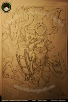 Drawing Shyvana by FEDsART