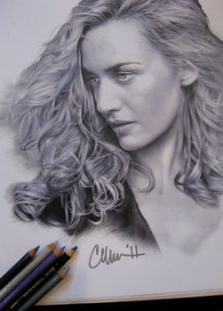 Kate Winslet Drawing by Live4ArtInLA