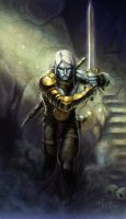 Dark Elf by NathanRosario