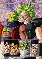 Dragon Ball Multiverse: 1269 Color by Argelios