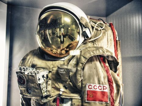 Soviet space suit by Mecenetic