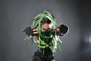 Cybergoth IX by Zria-Spektrum