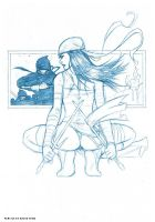 elektra sketch by deemonproductions