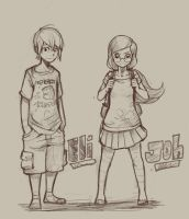 Joh And Eli by devpose