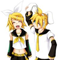 VOCALOID: twins for sure by WeirdCircus9