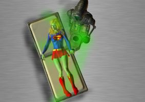 Supergirl Kryptonite Expmt by orionsforge