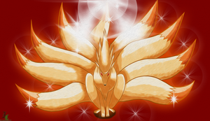 Ninetales Colored