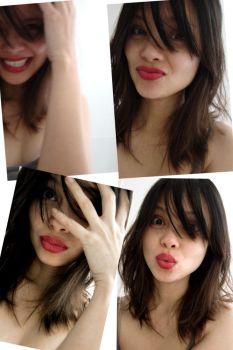 Me and my Red Lipstick by JuCfatLIPS