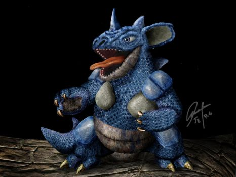 # 31 Nidoqueen by Jorge E. Romano by PBRLADQRO