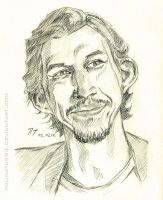 Adam Driver, sketch (2) by polinatur93