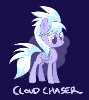 Cloud Chaser Drawing by MusicalWolfe