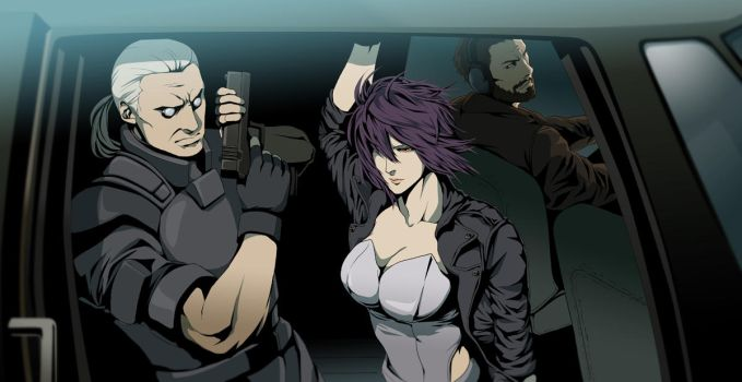 Ghost in the Shell S.A.C. by doubleleaf