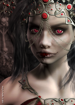 Queen of the Damned by Gwasanee