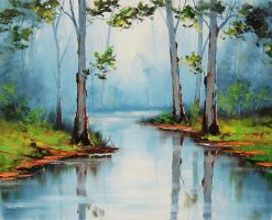 River Gums by artsaus