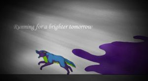 Running For A Brighter Tomorrow by sandra9666
