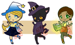Witchy Adopts [3/3] Open by aska-ray