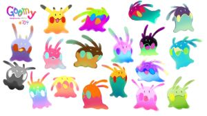 The Colors of Goomy