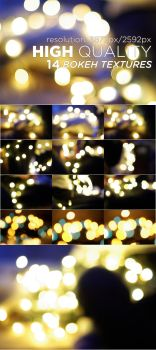 14 High Quality Bokeh Textures by FashionVictim89