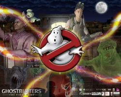 Ghostbusters game wallpaper 1 by jhroberts