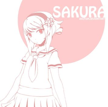Back to School Sakura by Akutom