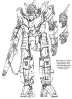 Live action VF-1A concept by Ra88