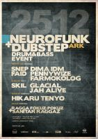 Neurofunk vs Dubstep by pixel-junglist