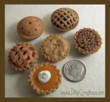 Pie Assortment - 1:12 scale by DFLY847