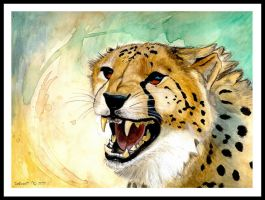 Cheetah's Anger by CatBeast17