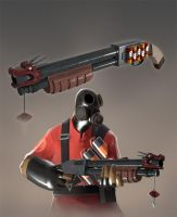 TF2 Contribute - The Shaolin Shooter by Ragnarokdragon