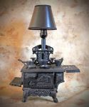 Cast Iron Stove Lamp by ClassicRedo