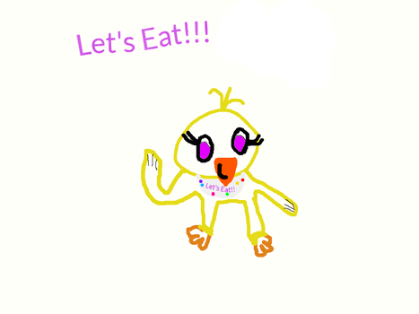 Chica ( Fnaf 1 ) 50+ Watchers Part 1!!!!! by PEACHY2442