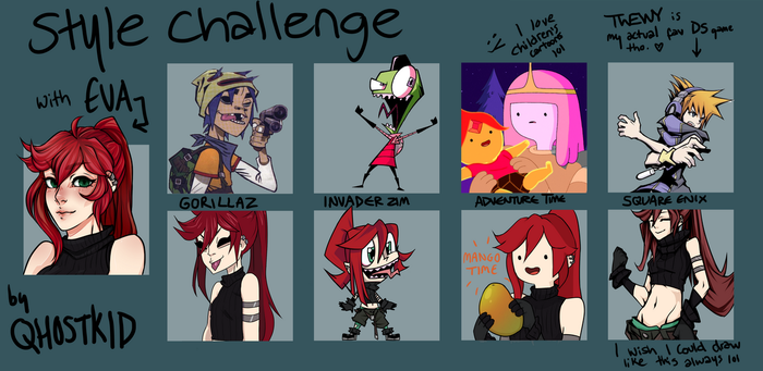style challenge - EVA by qhostkid