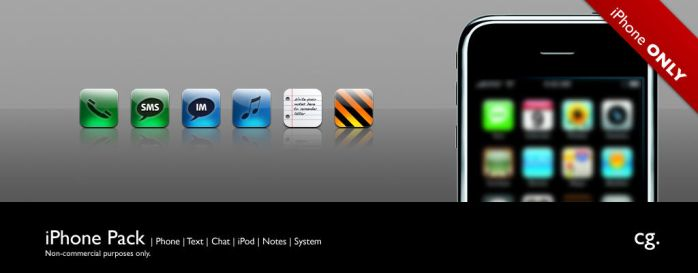 iPhone Pack by cgink