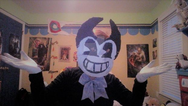 Bendy Cosplay Complete! by PsychoScoutAndMedic