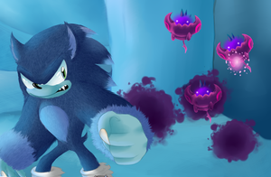 Sonic Unleashed: Holoska Night by sir-grimmington
