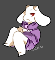 Altertale AU - Toriel by kyashee