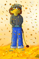 autumn afternoon by thelionjack