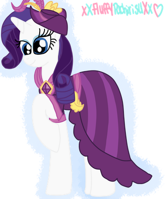 Rarity Coronation Dress S4 by xXFluffyPachirisuXx