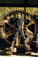 Me at the Steampunk Convention by 42pixel