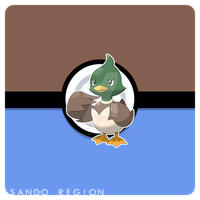 #233 - Ducklett (Sando Form) by AdrianoL-Drawings