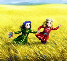 Meadow - Run, brother! by Develv