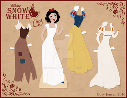 Snow White Paper Doll by Cor104