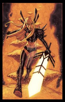 Magik-commission-in-color by StephaneRoux
