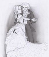 Sketch Request - Alice+Hatter by Tell-Me-Lies