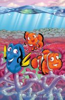 Finding Nemo 1 - Cover B by solipherus
