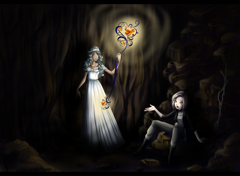Lost in the caves by LaminaNati