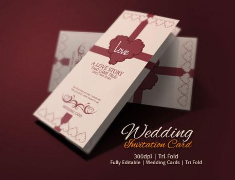 Are you getting Married? Wedding Card Design by BloganKids