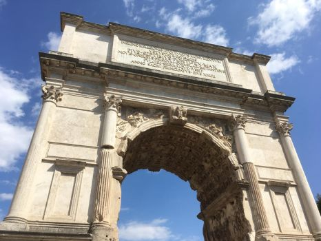 Arch of Titus by Stidl